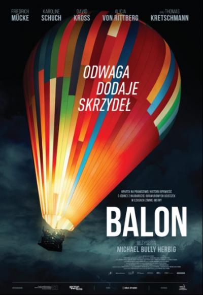plakat balon